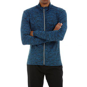 Quick-drying Sportswear Long-sleeved Coat Basketball Training Sports Clothes - NAVY NAVY