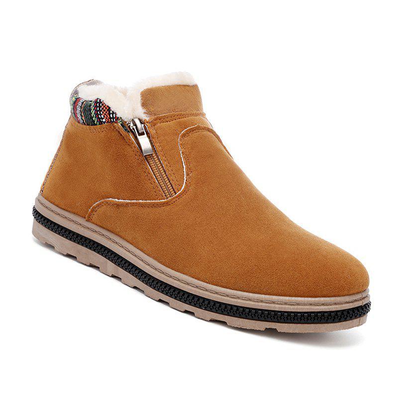 free shipping pictures Men Casual Warm Boots Fashion Walking Leisure Shoes Male Breathable Walking Sneakers - Yellow 43 lowest price online quality for sale free shipping sale fashion Style free shipping affordable 2Zz7dztEuh