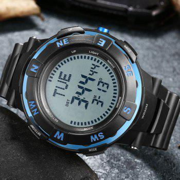 POPART POP831 Men Fashionable Mulitifunciton Waterproof Sports Wristwatch for Male - BLUE