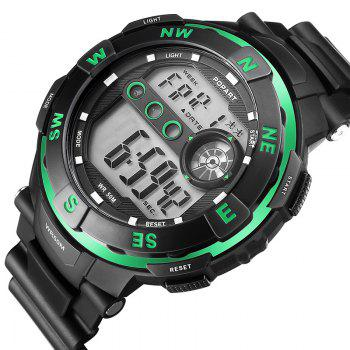 POPART POP - 831D Men Outdoor Sports Digital Waterproof Watch - GREEN
