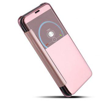 Mirror Plating Flip Ultra Thin Cover for Samsung Galaxy S8 Plus Case - ROSE GOLD