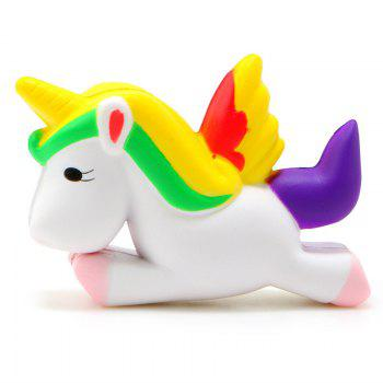 Unicorn Squishy Animal Slow Rising Stress Relief Toy for Kids Adults - COLORMIX