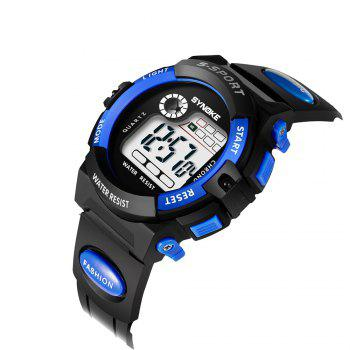 SYNOKE 99269 Sports Waterproof  Electronic Watch - BLUE FEMALE