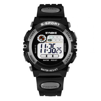 SYNOKE 99269 Sports Waterproof  Electronic Watch - GRAY GRAY