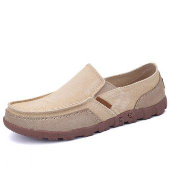 New Canvas Simple and Breathable Shoes - BEIGE BEIGE