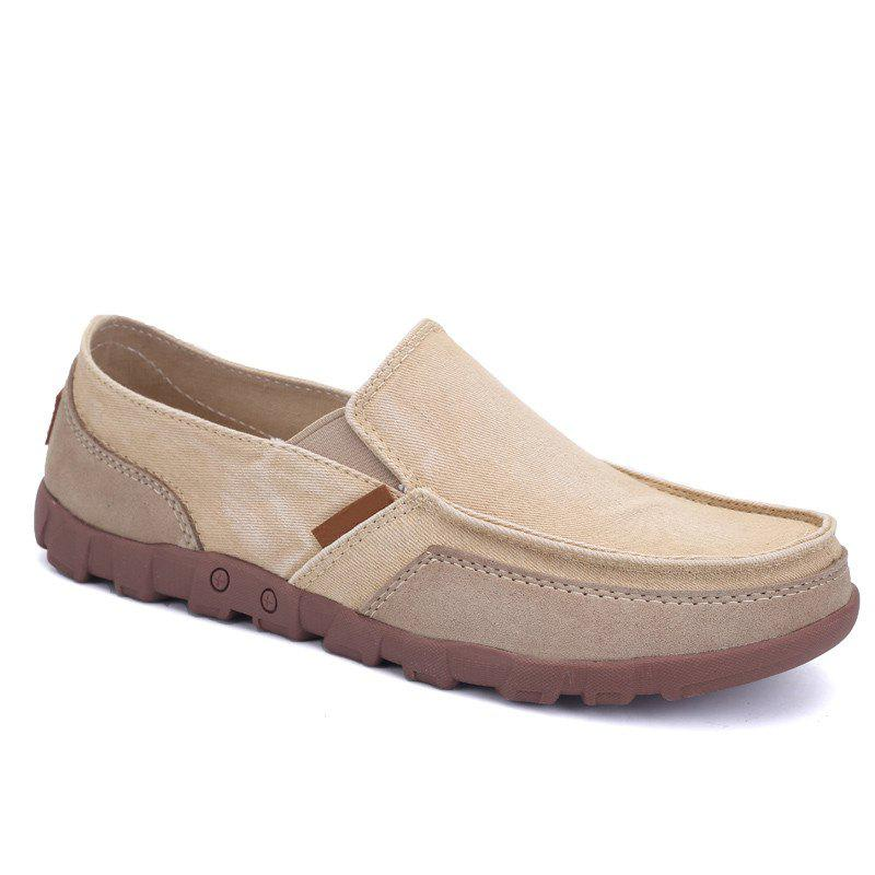 New Canvas Simple and Breathable Shoes - BEIGE 38