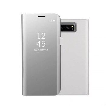 Original Mirror Clear View Smart Cover Phone Case with Flip for Samsung Galaxy Note 8 - FROST FROST