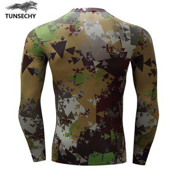 Long Sleeve Men's Clothing Fashion Trend - ARMYGREEN L