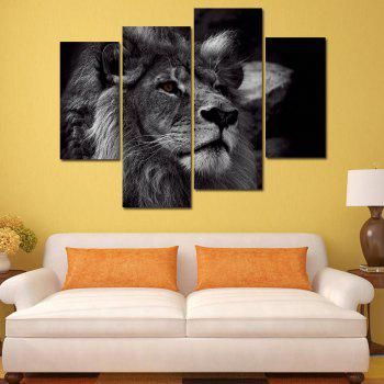 2018 Modern Frameless Oil Paintings for Home Wall Decoration 4PCS ...