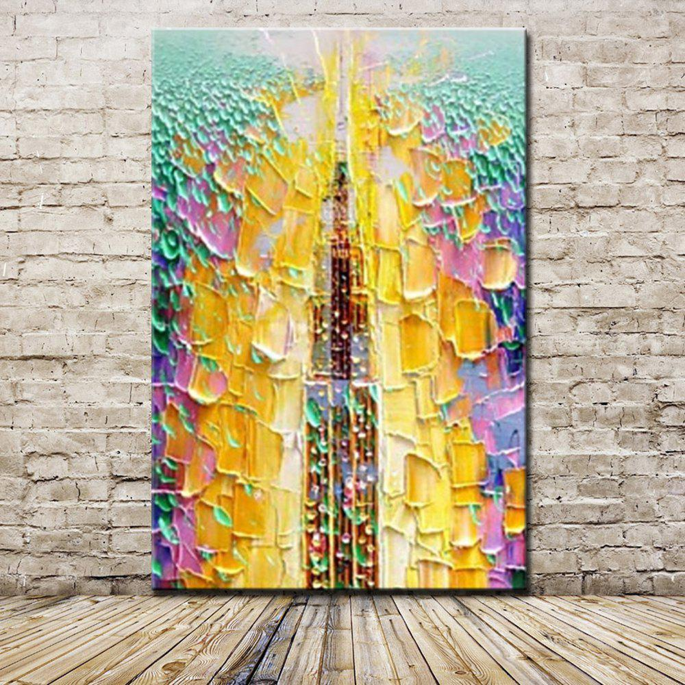 2018 Mintura Hand Painted Modern Abstract Oil Painting On Canvas ...