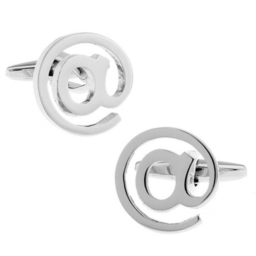 Men's Cufflinks Creative Charming Fashionable Cuff Buttons Accessory - SILVER