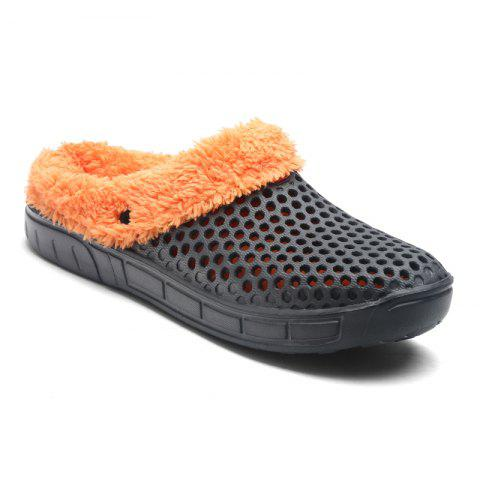 Hot Sale Men Indoor Cotton-Padded Slippers - GRAY 42