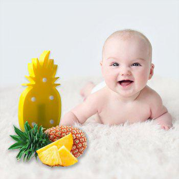 Pineapple LED Light Romantic Night Table Lamp Home Christmas Party Decor - YELLOW PINEAPPLE