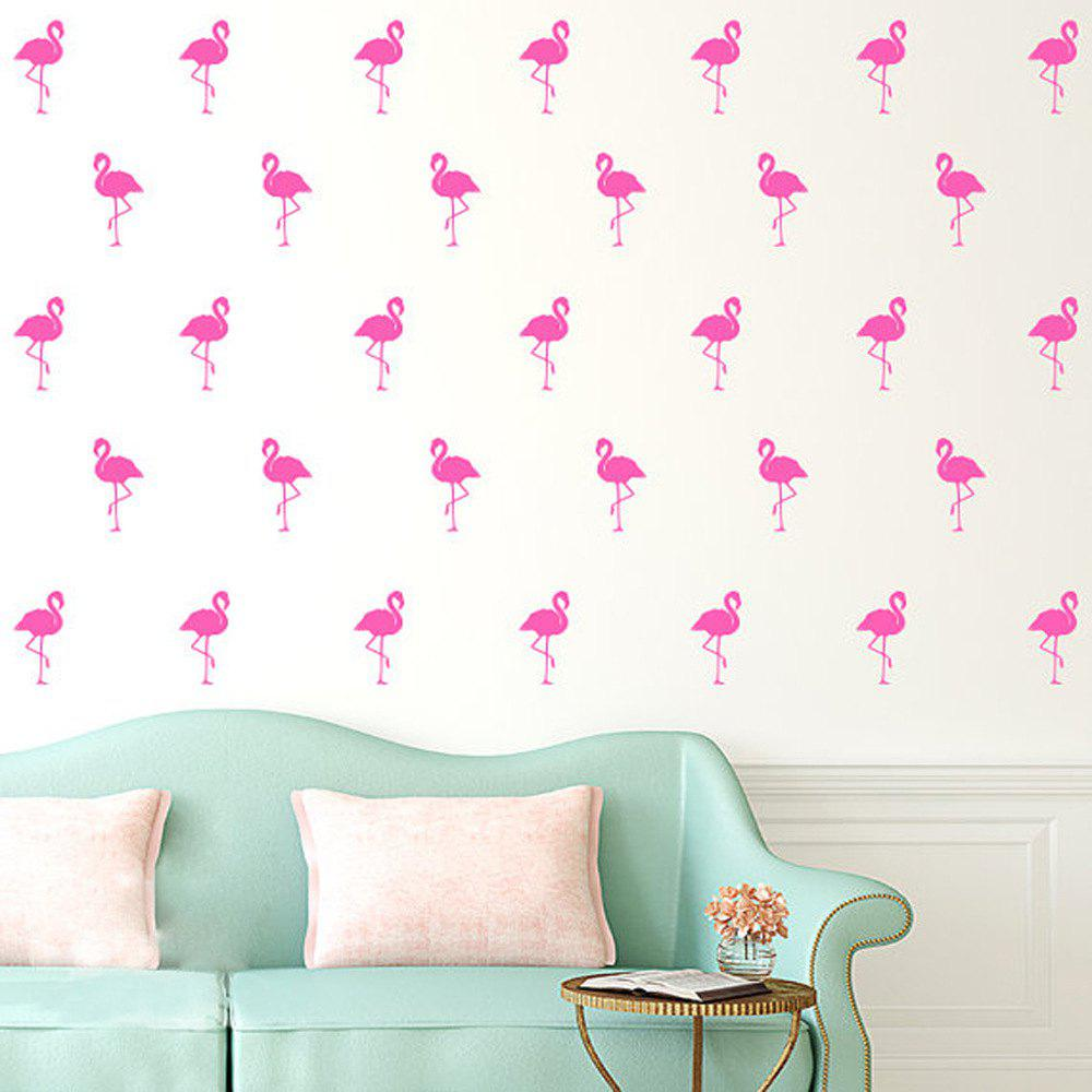Kids Room Decoration Flamingo Wall Stickers PVC Removable Decal 15 Pcs/lot подвесной светильник mw light норден 660012601