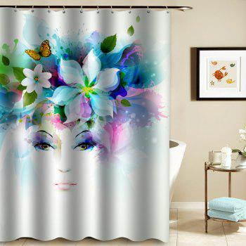 Shower Mouldproof Waterproof Toilet Bathroom Partition - COLORMIX