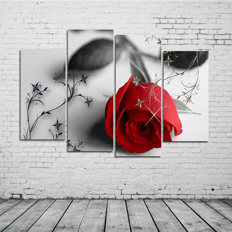 Modern Unframed Canvas Print for Home Wall Decoration 4pcs wall art sunset pyramids printed unframed canvas paintings