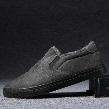 Men Breathable Outdoor Anti-Skid Tourism Sneakers Warm Shoes - DEEP GRAY DEEP GRAY