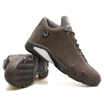 Men Basketball Casual Sneakers Breathable Classics Style Sport Shoes - BROWN BROWN