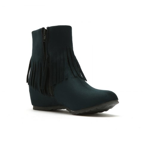 Short Spike with Fashionable Tassels Inside The Round Head - GREEN 39