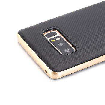 TPU + PC Carbon Fiber Case for Samsung Note 8 - GOLDEN