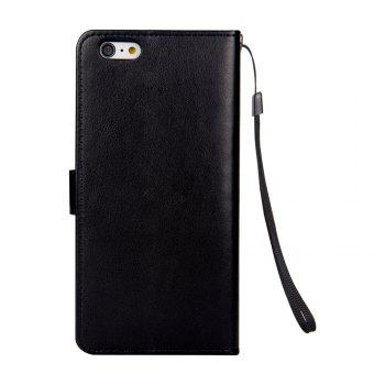 Ants On The Tree Flip PU Leather Dirt Resistant Case for iPhone 7 Plus - BLACK