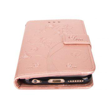 Ants On The Tree Flip PU Leather Dirt Resistant Case for iPhone 7 Plus - ROSE GOLD