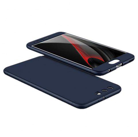 3 in 1 Hybrid Hard Plastic Ultra Thin and Slim Anti-scratch Matte Finish Cover Case for Hawei P10 - BLUE