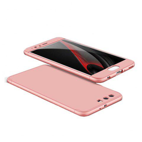 3 in 1 Hybrid Hard Plastic Ultra Thin and Slim Anti-scratch Matte Finish Cover Case for Hawei P10 - ROSE GOLD