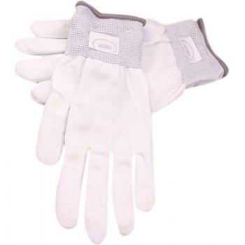 LED Colorful Flash Gloves - WHITE