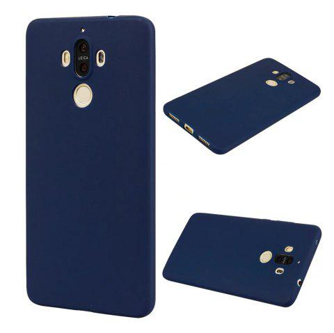 Ultra-thin Back Cover Solid Color Soft TPU Case for Huawei Mate 9 - CERULEAN