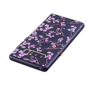 Embossed Peach Pattern Phone Case for Samsung Galaxy Note 8 - FLORAL