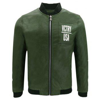 Autumn Winter Men S Motorcycle Fashion PU