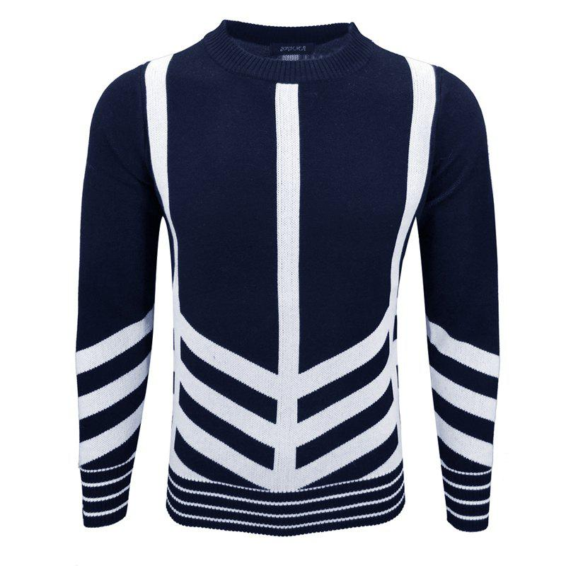 Men'S Hedging Sweater T-Ring Trendy Personality Primer Pullover hedging