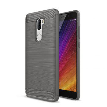 Tpu Brushed Finish Soft Phone Case for Xiaomi Mi 5S Plus -  GRAY