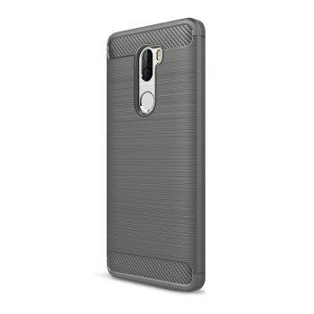 Tpu Brushed Finish Soft Phone Case for Xiaomi Mi 5S Plus - GRAY GRAY