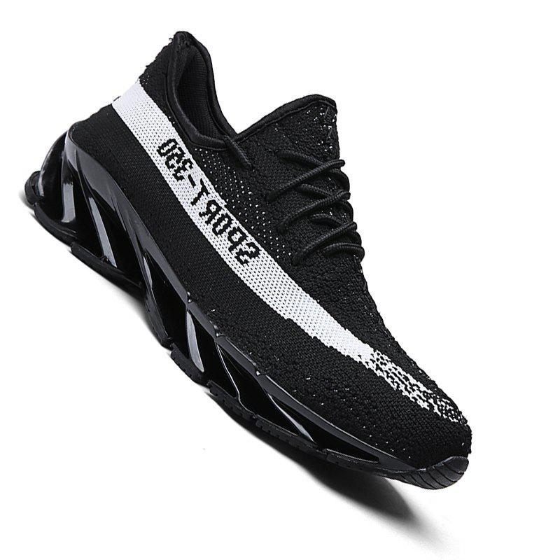 Men Casual Fashion Flat Shoes - Black 42 cheap sale popular cheap sale best place free shipping fashionable outlet footaction find great online TbGM9Tx