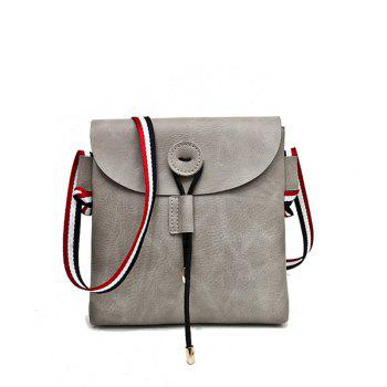 Bag Female 2017 New Style Wild Messenger Shoulder Small Square Bag - GRAY GRAY