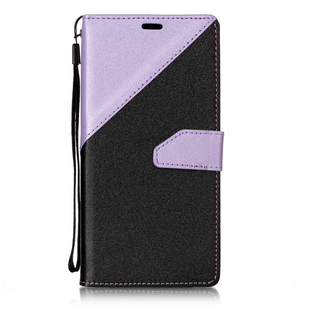 2018 housse de protection en cuir color stitching pour lg for Housse lg g6