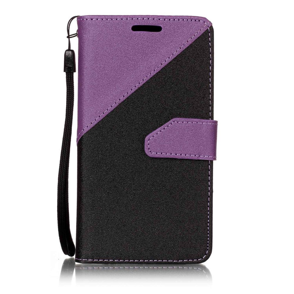 Color Stitching Leather Cover Case for LG K3 - CONCORD