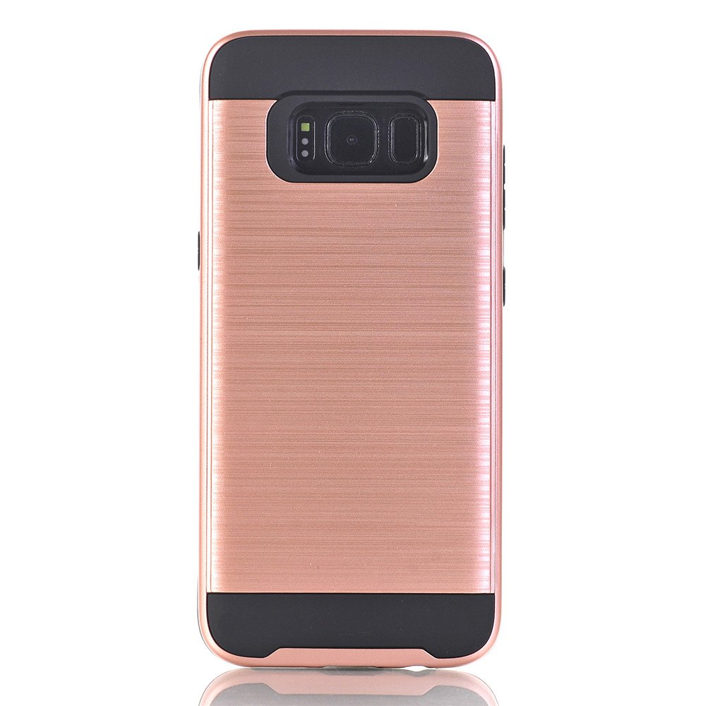 Shatterproof Phone Protective Case for Samsung Galaxy S8 - ROSE GOLD