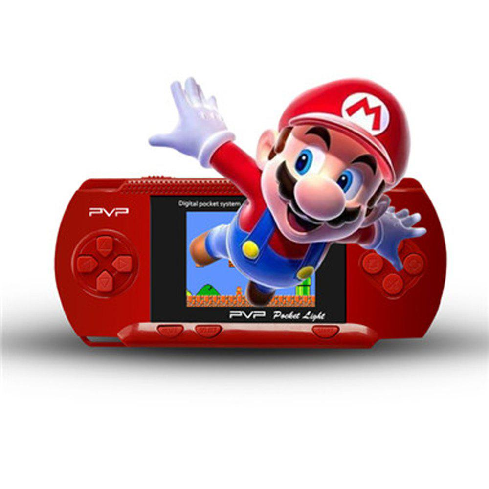PVP3000 2.8 Inch Game Player Great Gift for Family and Friends - RED