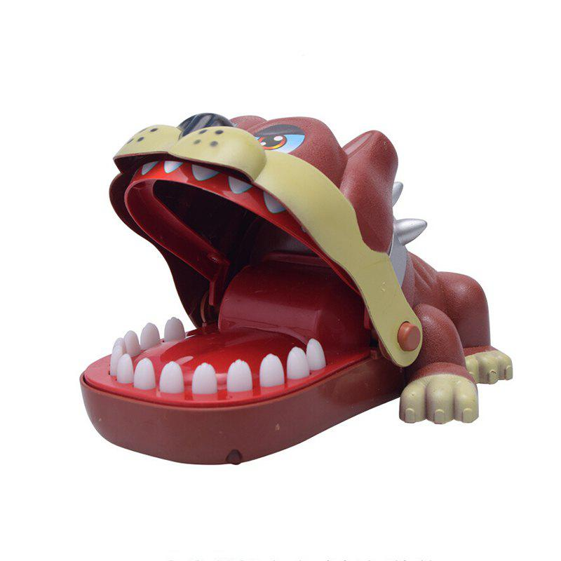 Big Mouth Dog Toy Bite Finger Game for Children Kids Funny Gift children funny lucky game gadget joke toy projectile fun