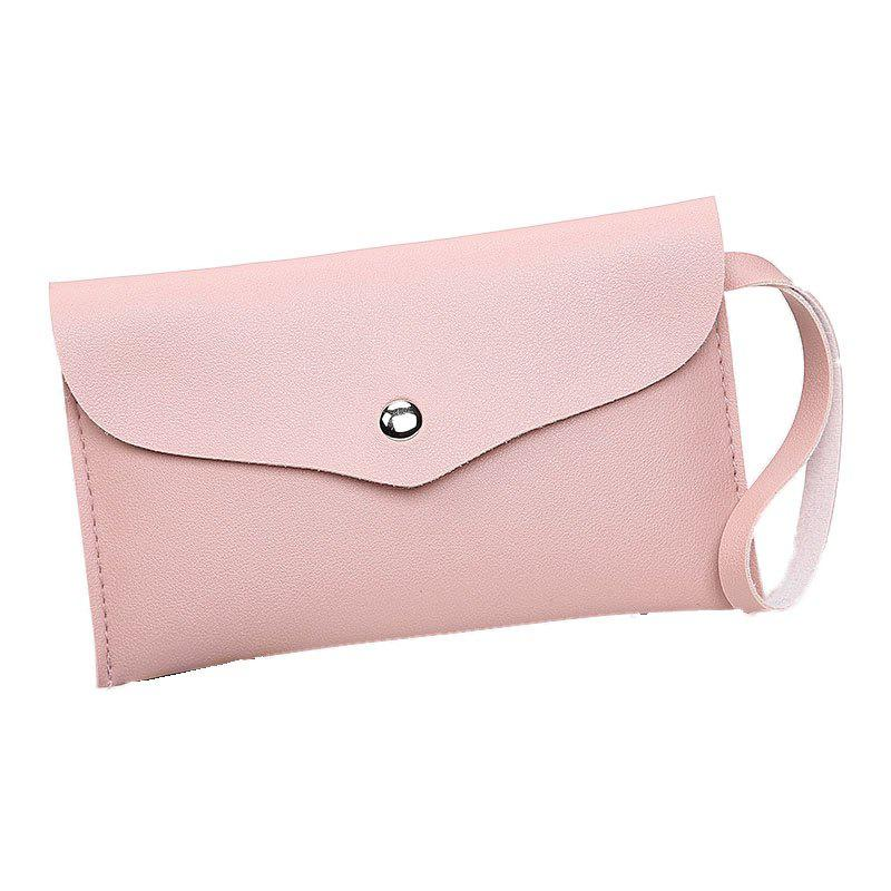 Women Casual Napkin Hand Purse - PINK