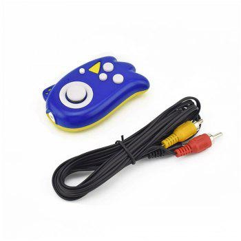 Plug and Play Handheld TV Video Game Console - BLUE 8.5 X 4.5 X 2CM