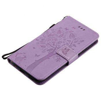 Double Embossed Sun Flower PU TPU Phone Case for ASUS ZenFone ZD552KL -  RADIANT