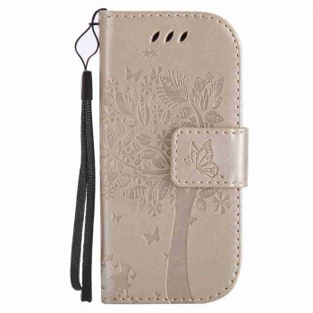 Double Embossed Sun Flower PU TPU Phone Case for Nokia 3310 -  GOLDEN