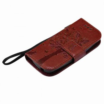 Double Embossed Sun Flower PU TPU Phone Case for Nokia 3310 -  COFFEE