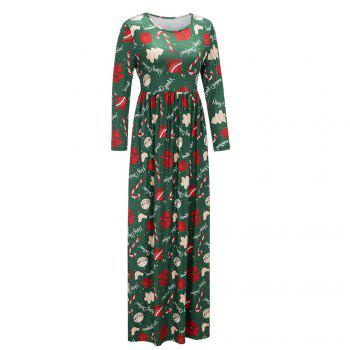 2017 New Lovely Christmas Floral Dresses - FERN 2XL
