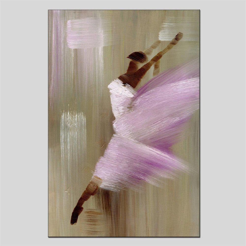 2018 Hua Tuo Dancing Girl Oil Painting Size 60 x 90CM HT-1493 PINK X ...