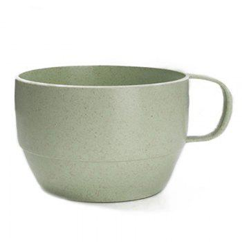 DIHE Wheat Straw Tea Cup Literature and Art Environmental Protection - GREEN GREEN
